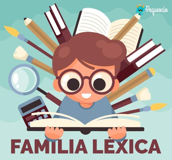 Familia léxica o familia de palabras