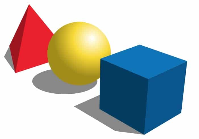 Figuras geométricas volumétricas