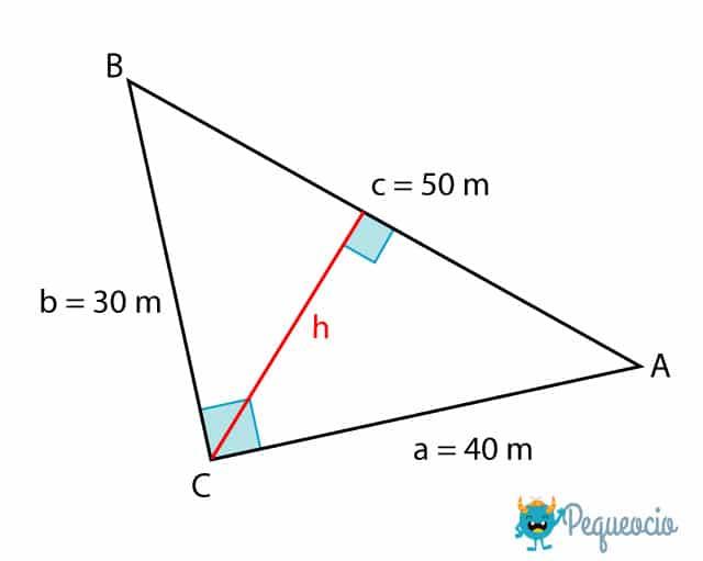 Triángulo rectángulo: características y fórmulas 1