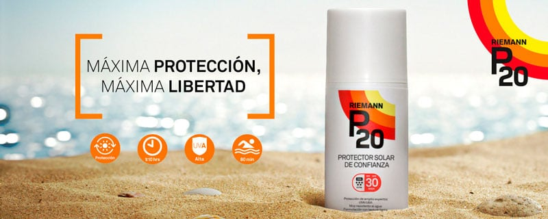protector solar p20
