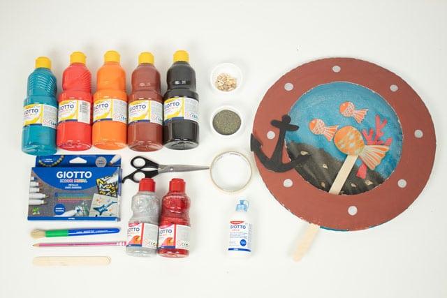 Cómo hacer un fondo marino: ¡una manualidad de verano! 1