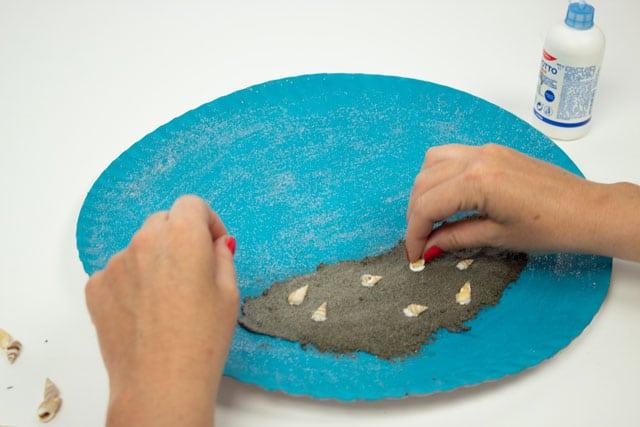 Cómo hacer un fondo marino: ¡una manualidad de verano! 7