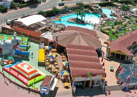 Aquacenter parque acuatico menorca