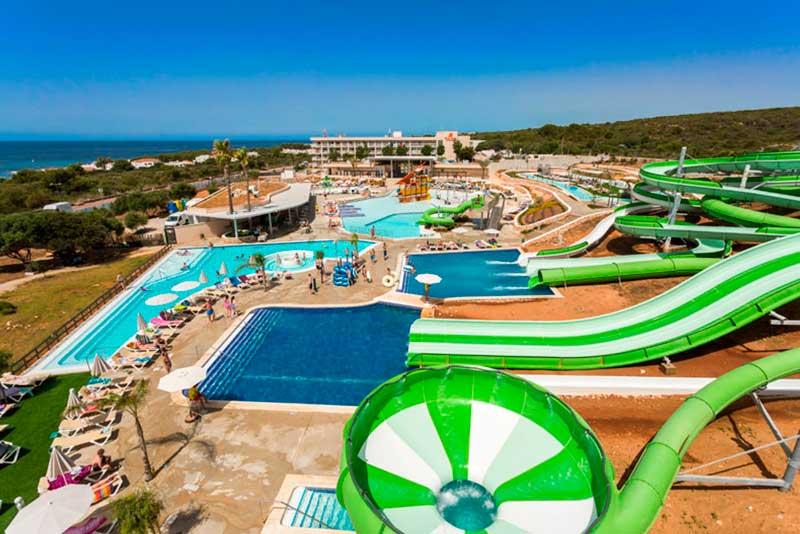 Splash Menorca parque acuatico