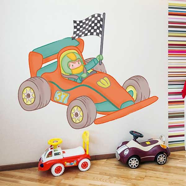 Vinilos infantiles coches