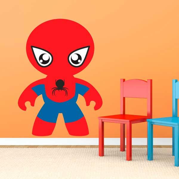 vinilos infantiles spiderman