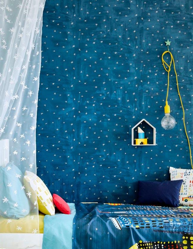 ¡Enamórate del papel pintado para la habitación infantil! 1