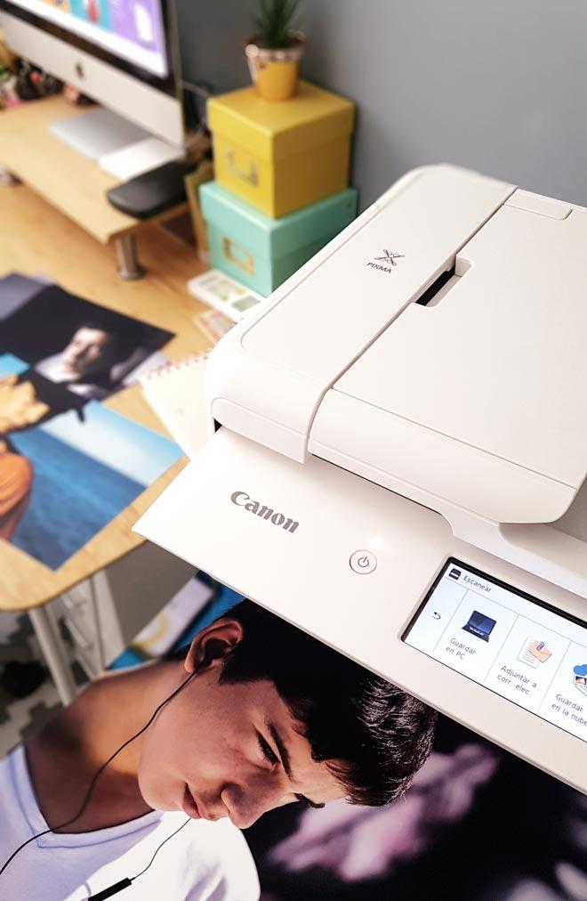 Prueba impresora Canon TS9551C A3