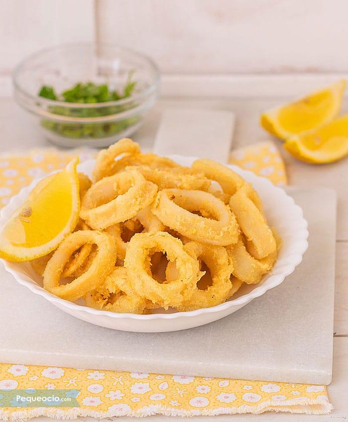 Calamares a la andaluza (fáciles y crujientes) 2