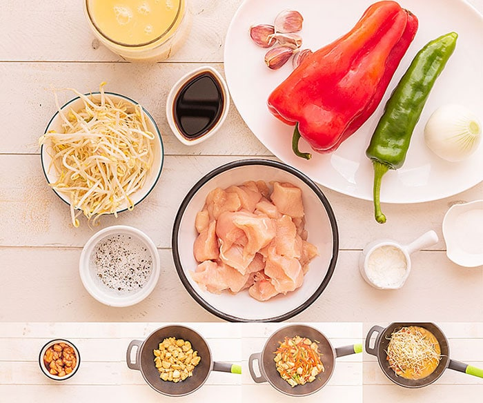 Chop Suey de pollo (receta china fácil) 1