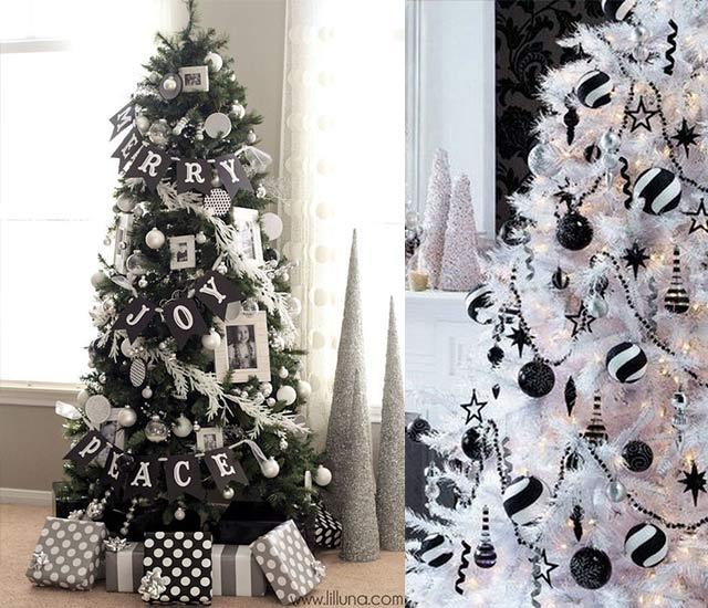 Ideas para un árbol de Navidad moderno