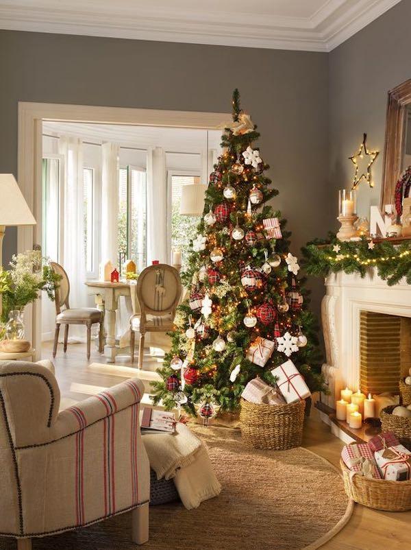 Cómo adornar el árbol de Navidad
