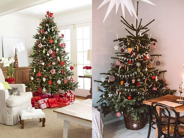 Ideas para árbol de Navidad escandinavo
