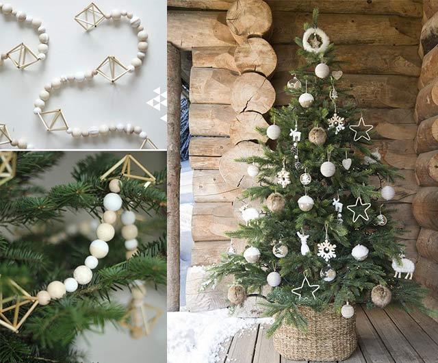 árboles de Navidad de estilo nórdico