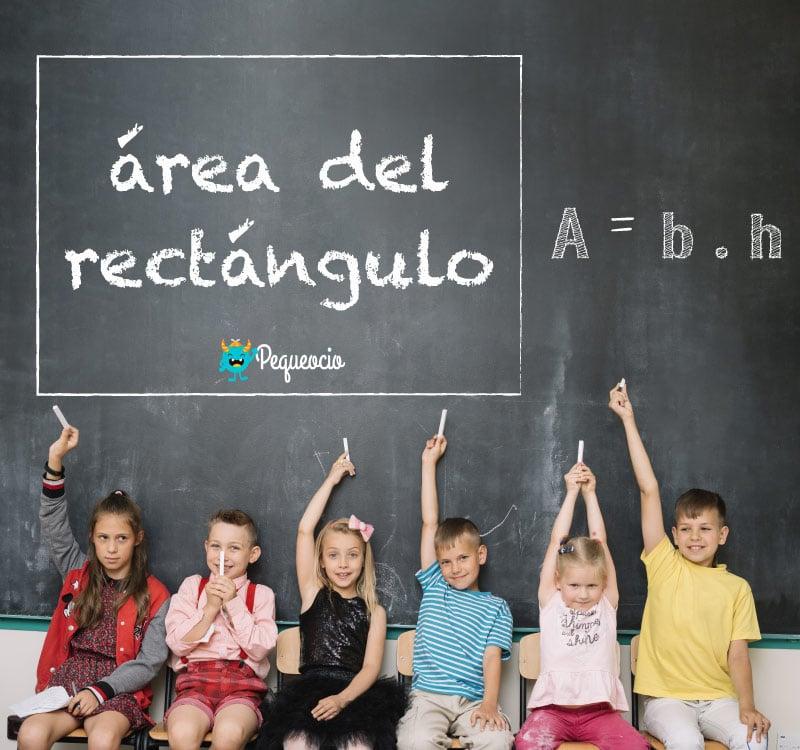 Cómo calcular el área de un rectángulo
