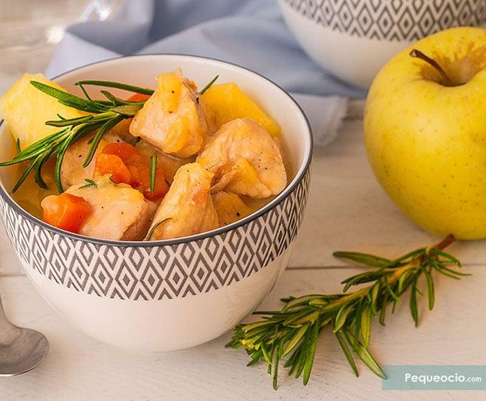 Estofado de pavo guisado con patatas 2
