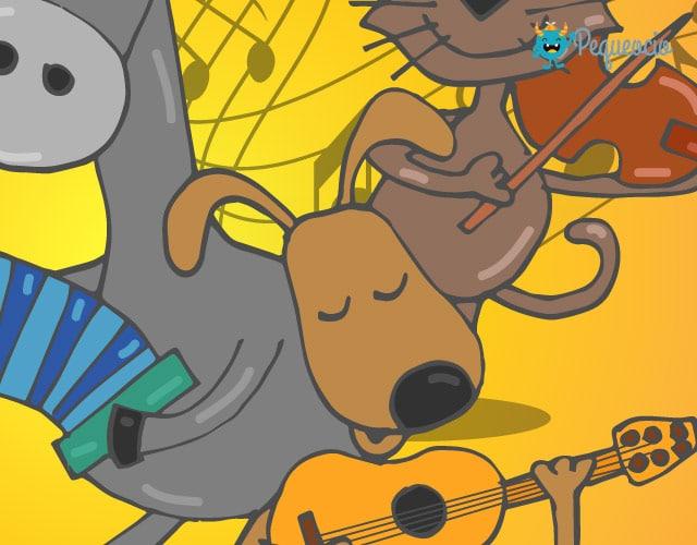 cuento infantil Los músicos de Bremen
