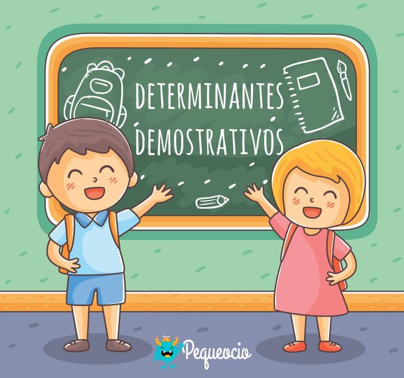 Qué es un determinante demostrativo