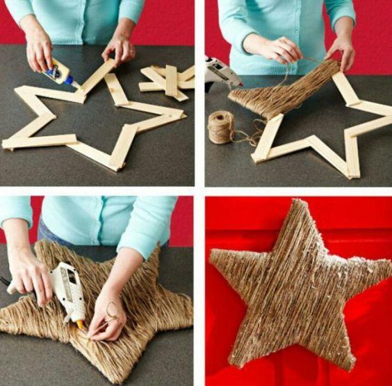 Estrella para decorar