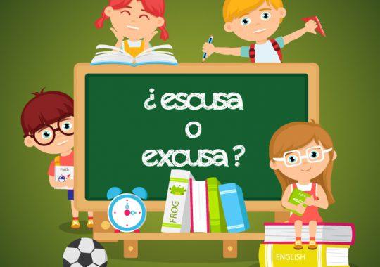 Se escribe escusa o excusa