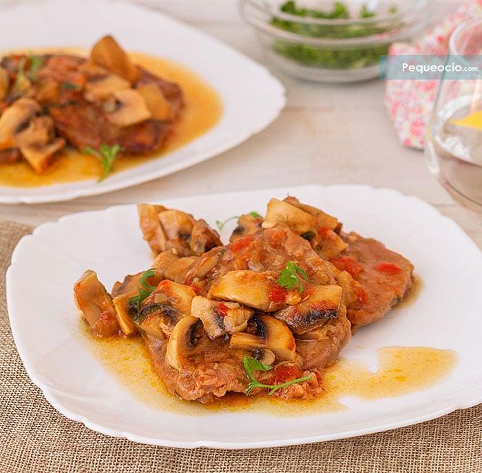 Filetes de ternera en salsa (4 recetas fáciles) 2
