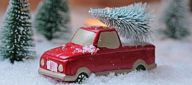 Fotos de decoración navideña