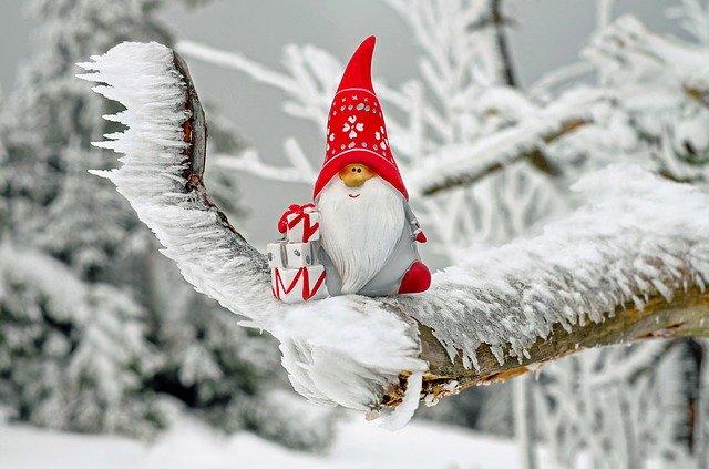 Adornos caseros de Navidad