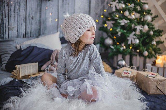 Imágenes navideñas con niños