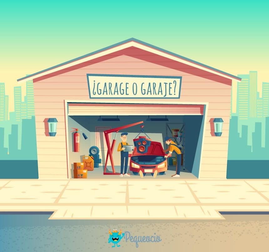 Garaje o garage