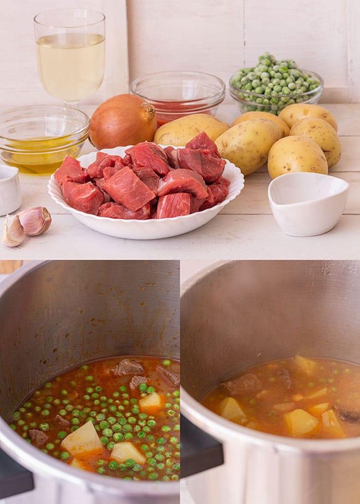Guiso de ternera con patatas (estofado de carne fácil y rico) 1