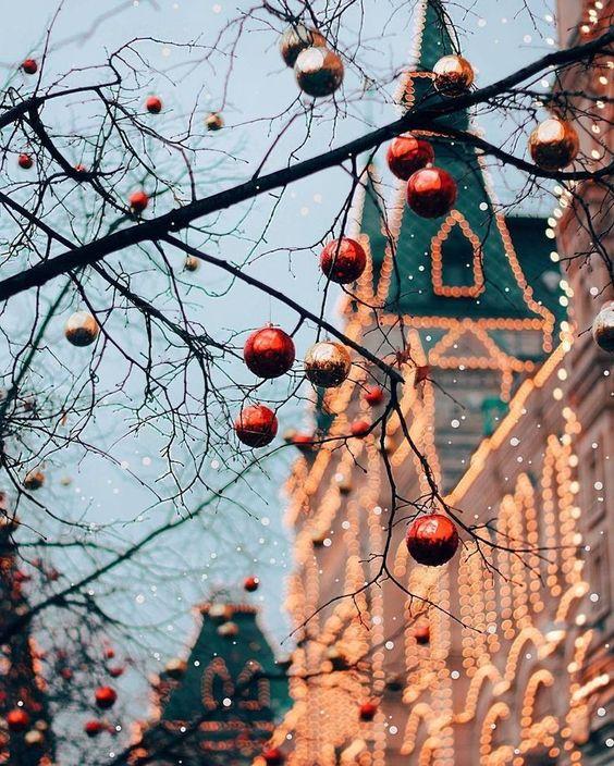 Imágenes de luces de Navidad