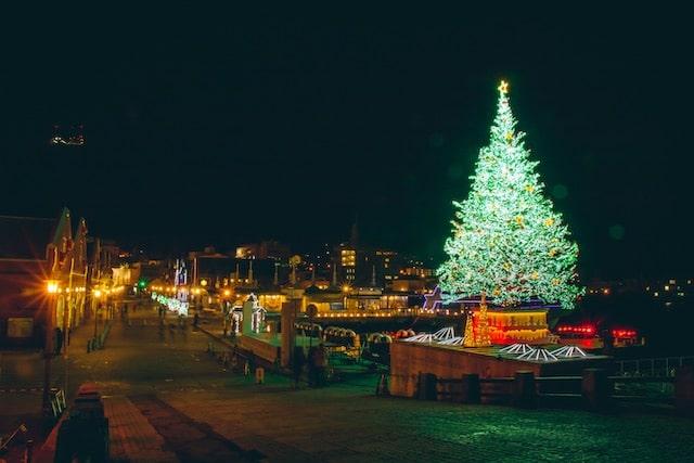 Fotos de luces de Navidad