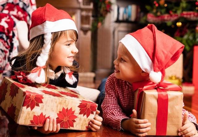 Fotos de Navidad niños