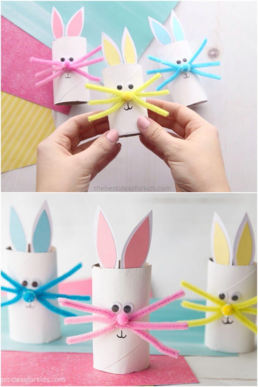 manualidades infantiles rollos de papel