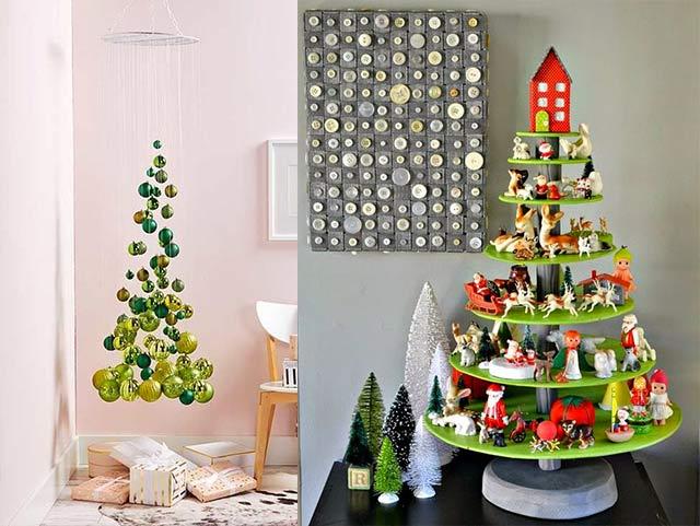 Ideas originales para el árbol navideño