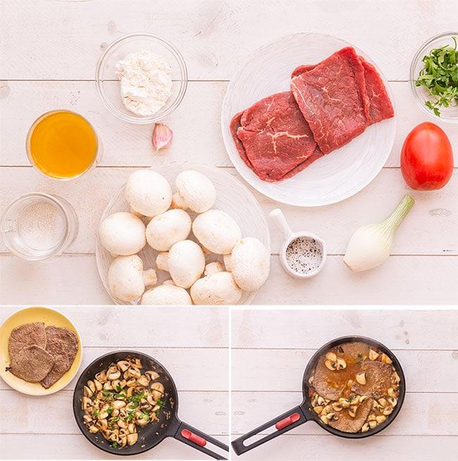 Filetes de ternera en salsa (4 recetas fáciles) 1