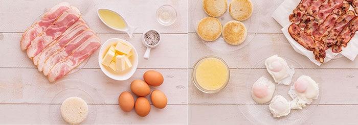 Huevos benedictinos o Benedict 1