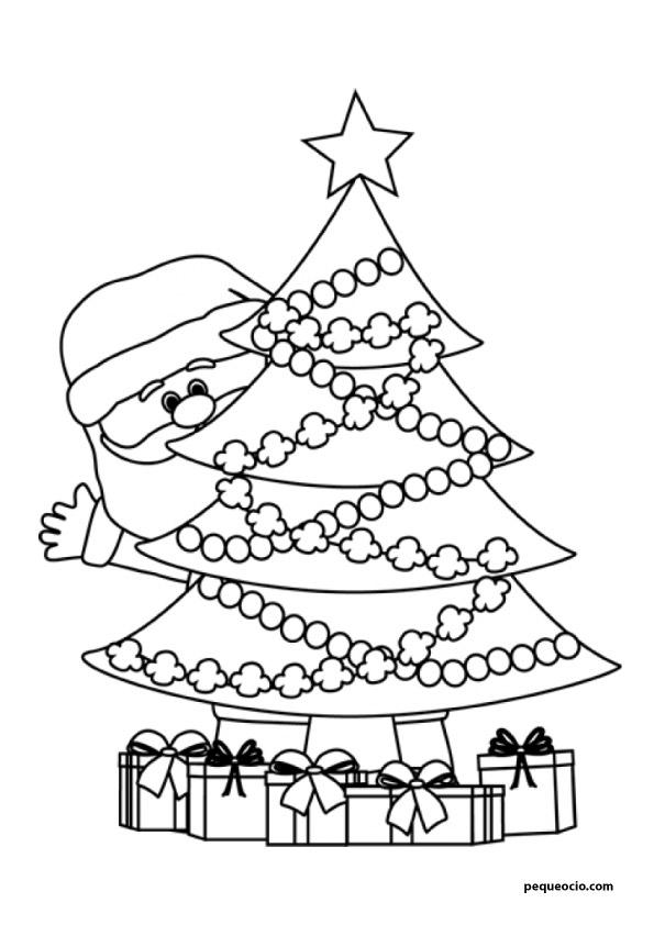árbol de navidad para dibujar