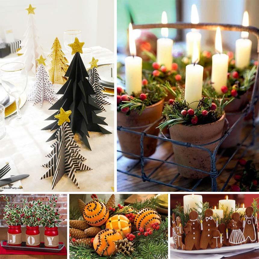 Navidad centros de mesa