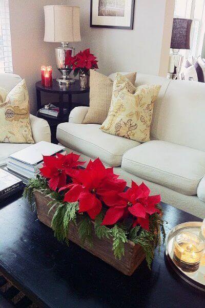 Adornos para la mesa de Navidad