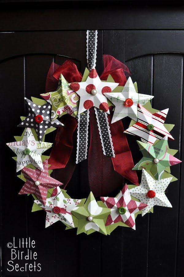 Coronas navideñas caseras