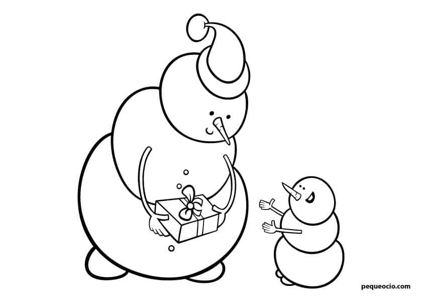 dibujos de navidad para pintar