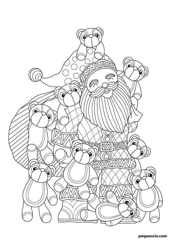 dibujos de navidad para copiar