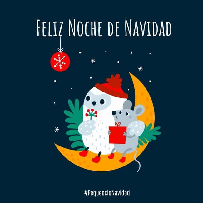 Feliz noche navideña