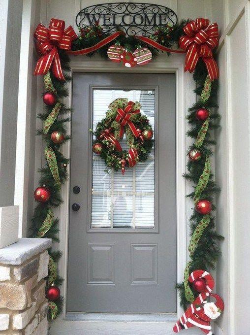 programa autoridad Lingüística puertas decoradas con cintas navideñas  abrigo víctima Positivo