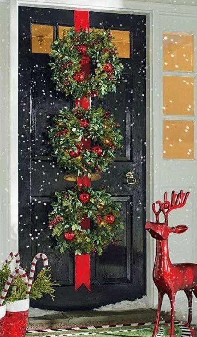 Decoración de Navidad para puertas