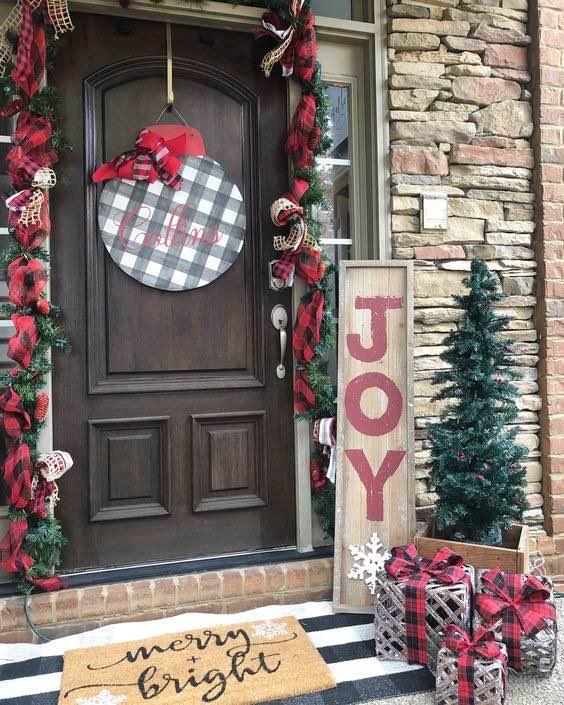 puertas Navidad decoración