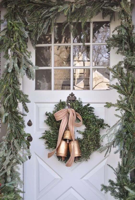 Decoración rústica de Navidad
