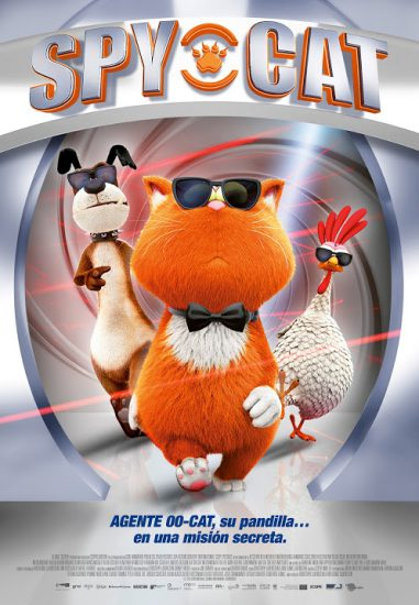 spy cat pelicula infantil