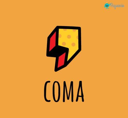 Uso de la coma